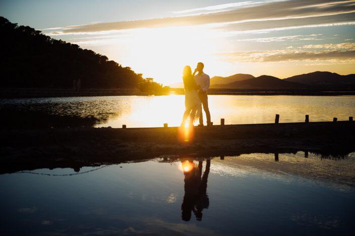 Ibiza love story. Photographer in Ibiza