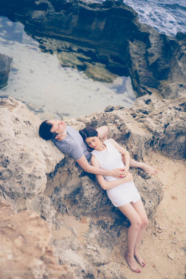 Engagement photography in Ibiza