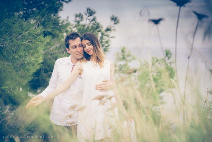 Engagement photography in Ibiza. The engagement ring