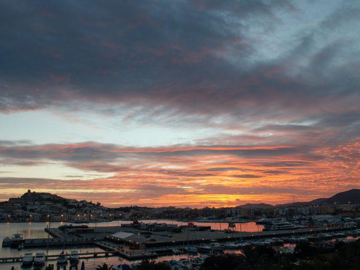 Ibiza sky by Masha Kart