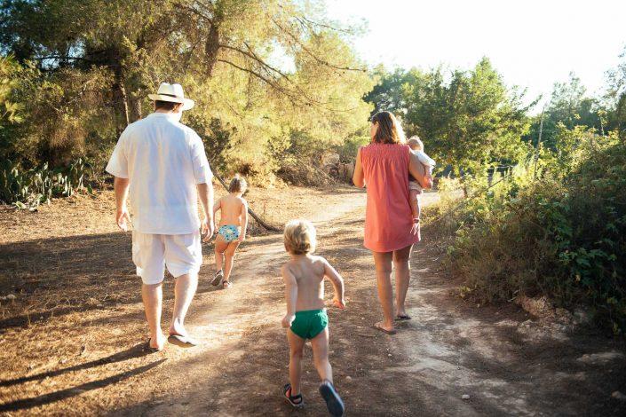 Family photo shoot in Ibiza by Masha Kart, Ibiza wedding and family photographer