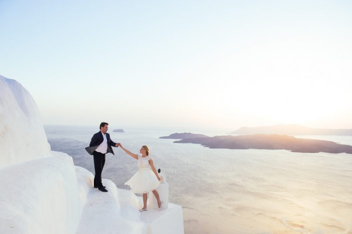 Santorini wedding photography by Masha Kart