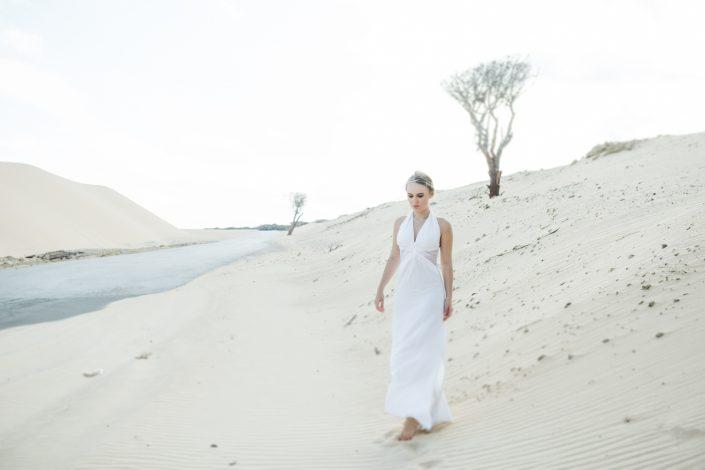 Dunes in Tarifa, Spain