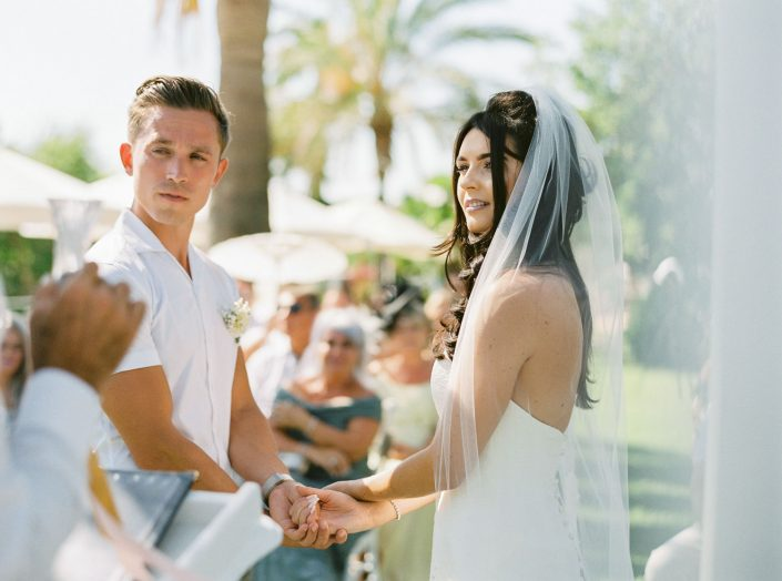 The ceremony at Can Gall, Ibiza