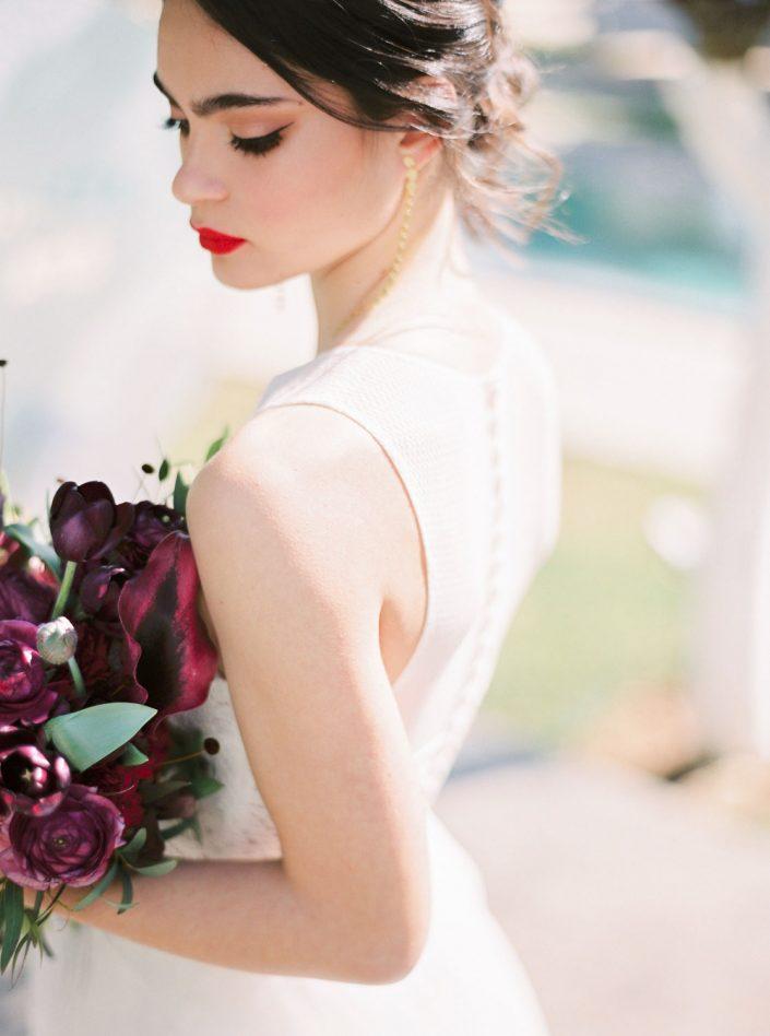 Stunning bridal inspirational shooting at Atzaro, Ibiza