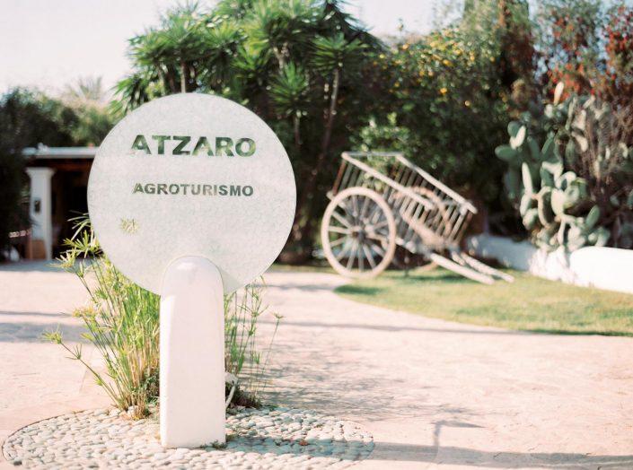 Agrotourismo Atzaro. The entrance