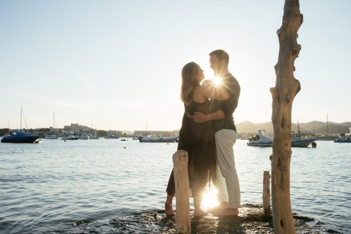 Engagement photographer in Ibiza and Formentera