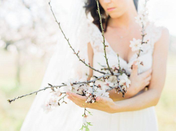 Bridal portrait in Ibiza, captured by Ibiza and Mallorca wedding photographer Masha Kart