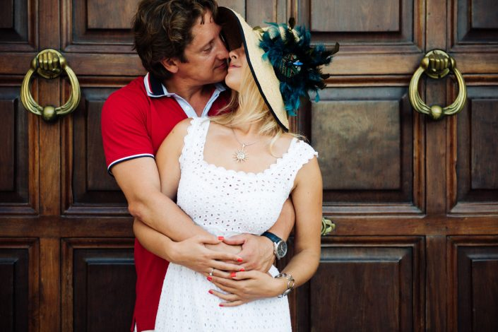 Engagement photos. Katya and Sergej got engaged in Ibiza