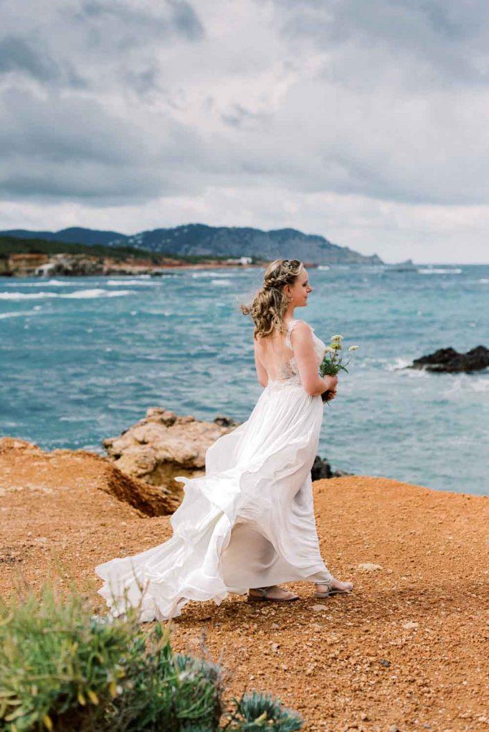 Bride in Mallorca