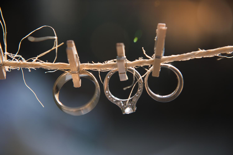 The wedding rings in Atzaro