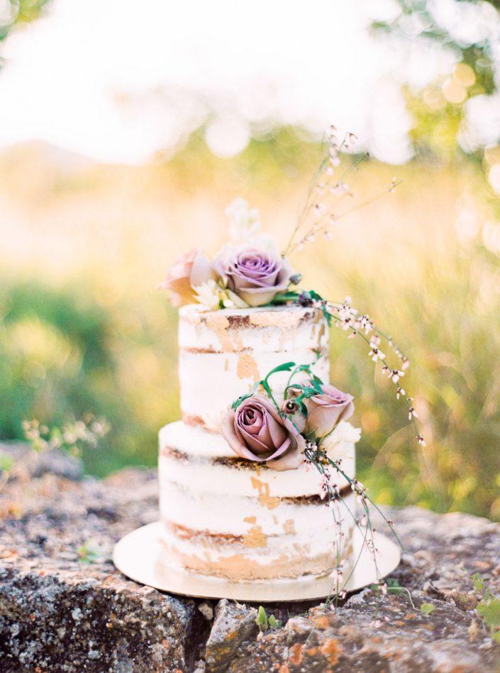 The wedding cake at Terra Masia Ibiza