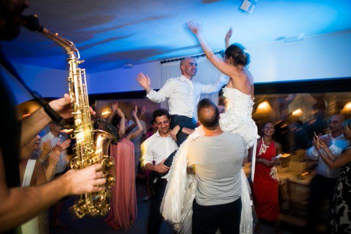 Beautiful ceremony at Aiyanna Ibiza