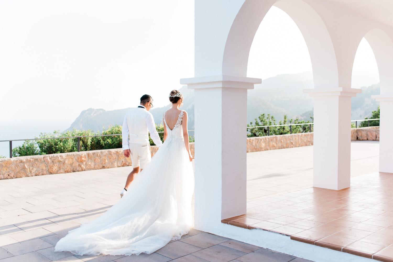 Japanese wedding in Ibiza. Photography Masha Kart. Wedding photography in Ibiza
