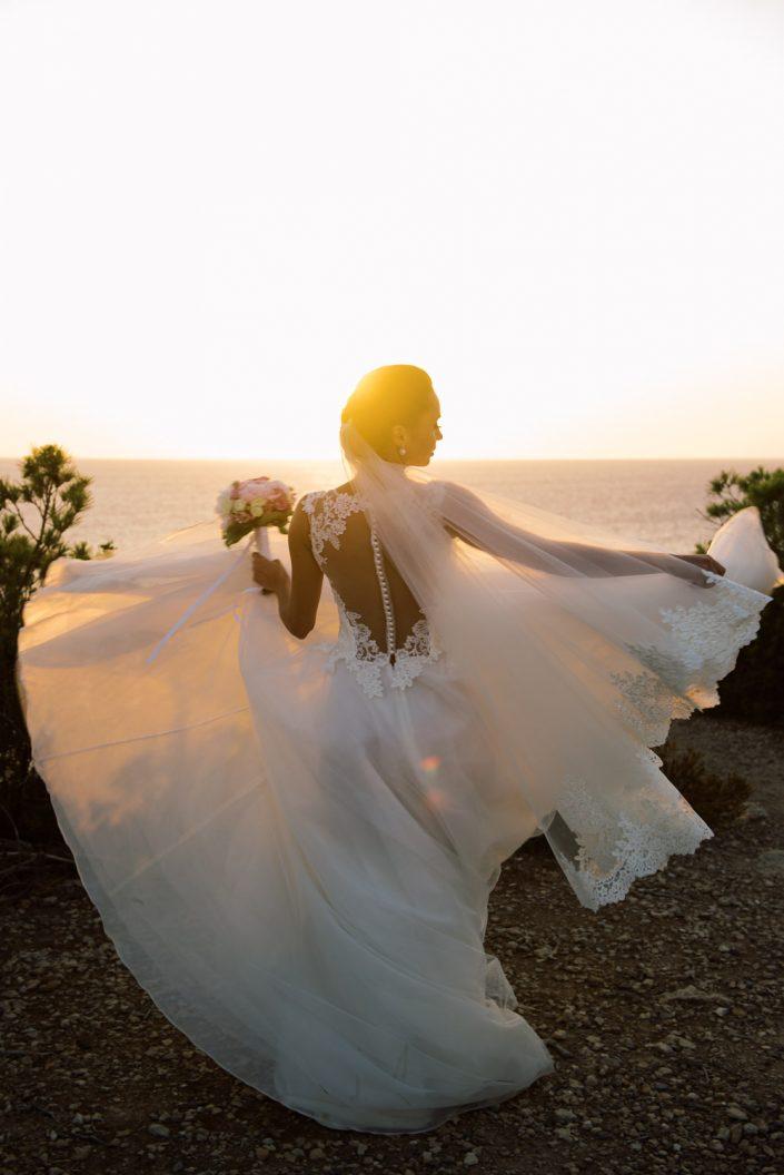Wedding Ceremony Es Vedra Ibiza. Photographer Masha Kart