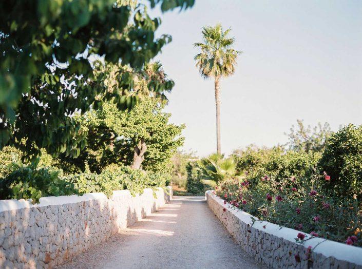 Can Gall wedding venue in Ibiza. Film wedding photographer Masha Kart