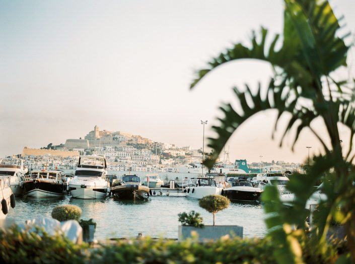 Ibiza city. Ibiza film photographer Masha Kart