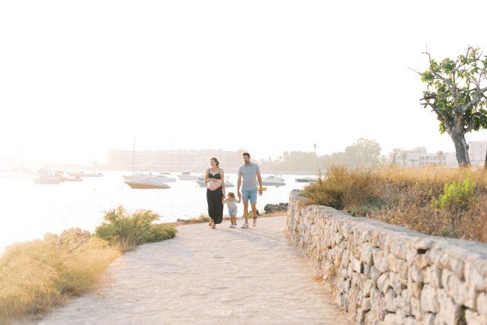 Family in Ibiza