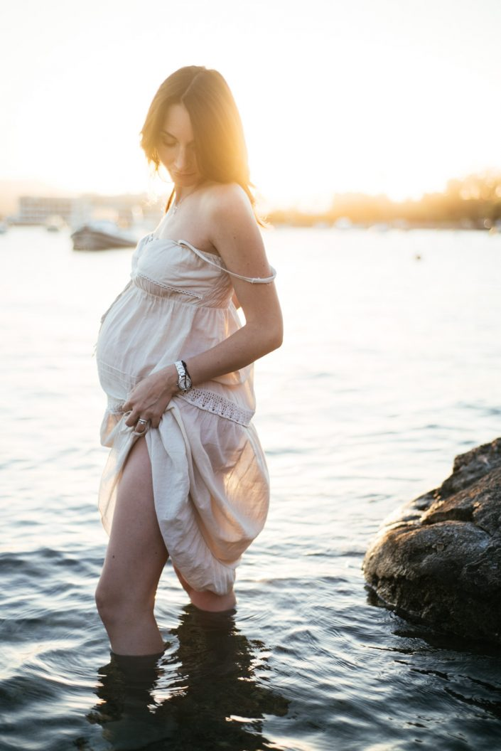 Ibiza maternity and family photographer Masha Kart. Pregnancy photo session in Ibiza