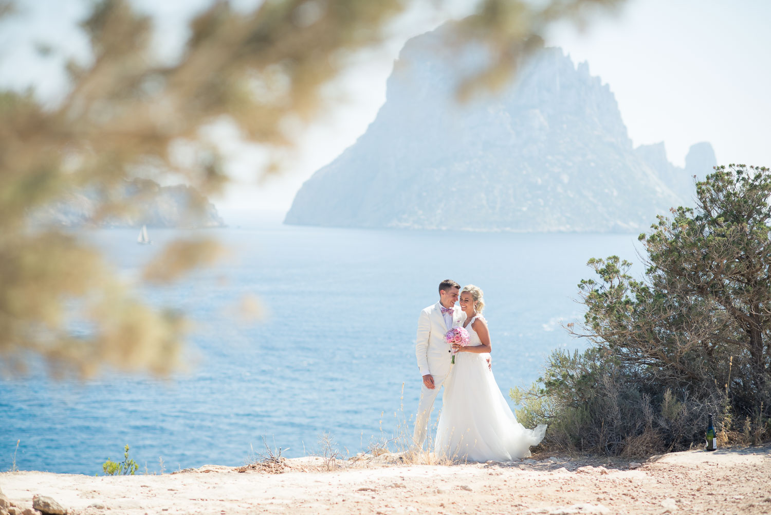 Es Vedra and the coupe
