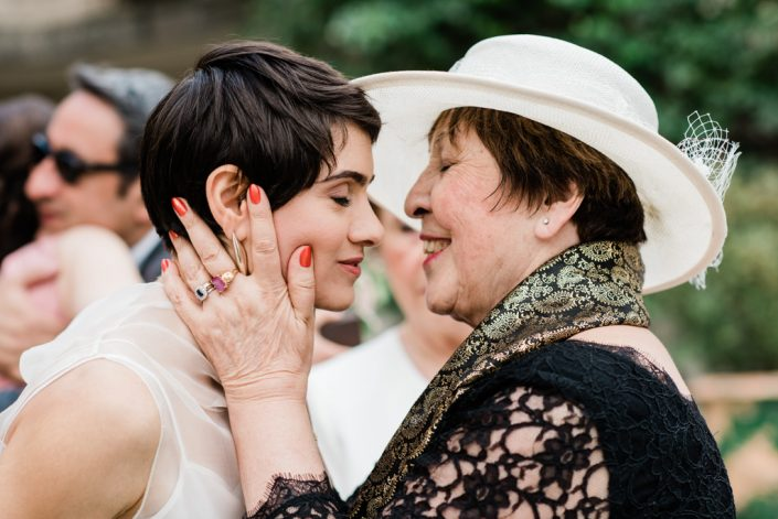 The aunt and the bride at the Provence wedding. Photography Masha Kart
