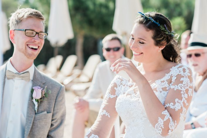 Wedding ceremony. Ibiza Pura Vida wedding venue. Photographer in Ibiza and Mallorca Masha Kart