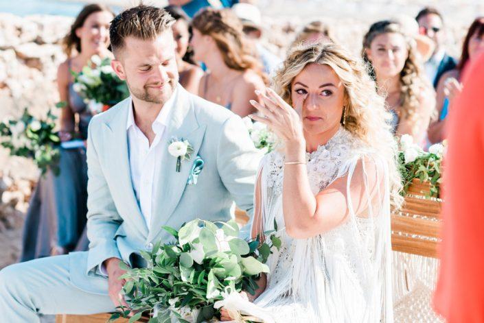 Wedding at La Escollera, Ibiza. Photography Masha Kart