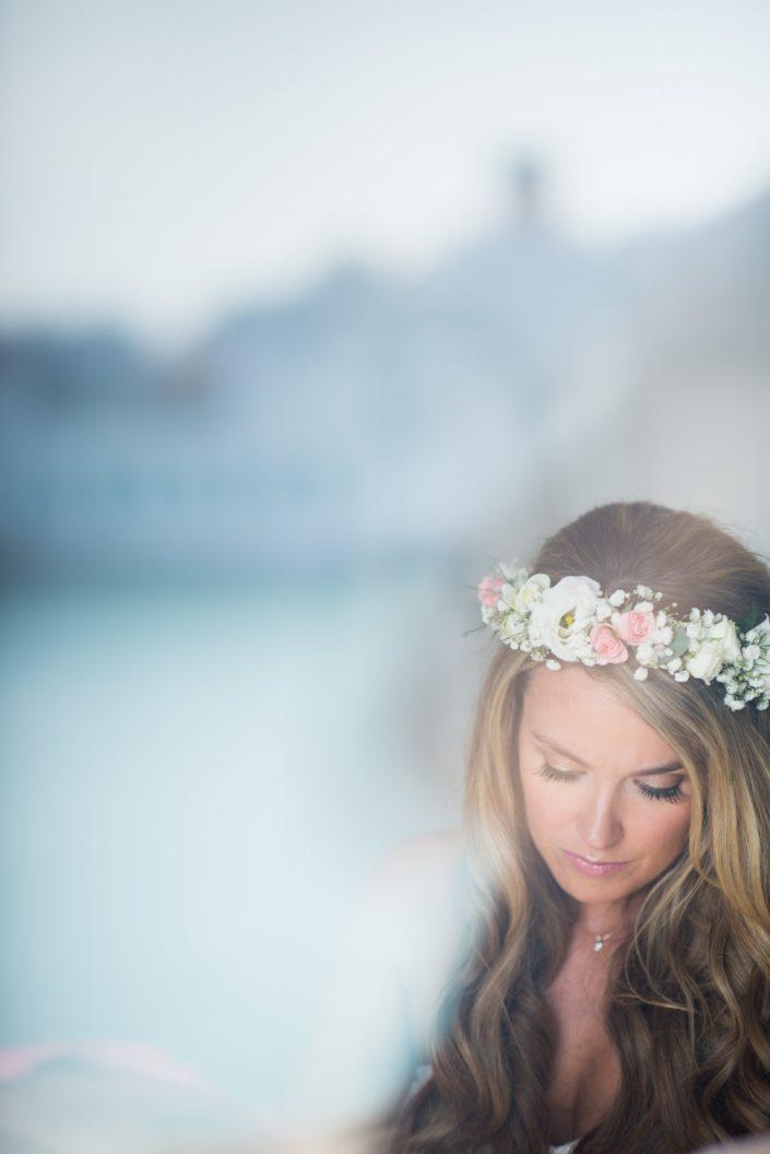Bride is getting ready! Photographer in Ibiza Masha Kart