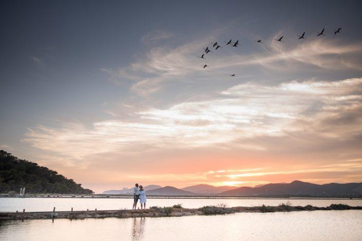 Engagement photo session in Ibiza. Photographer Masha Kart