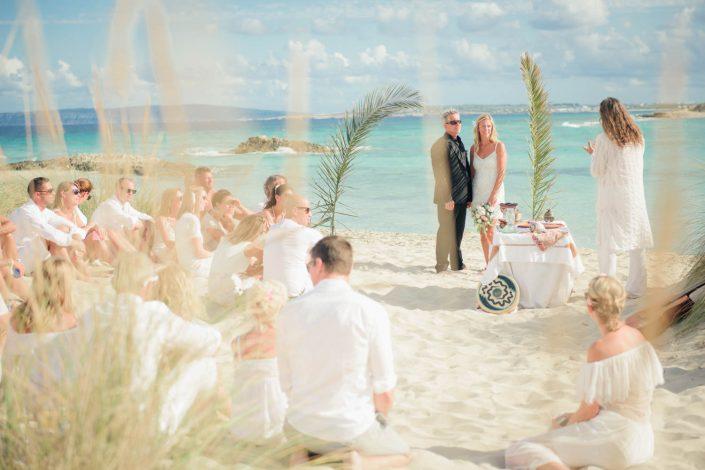Formentera wedding ceremony