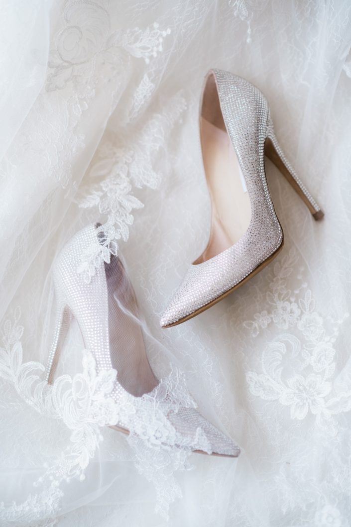 Ibiza wedding photography by Masha Kart. Inspirational wedding photo shooting.. The wedding shoes