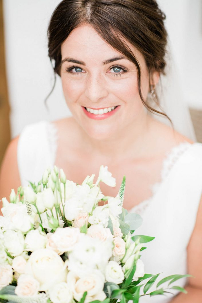 portrait of the bride in Can Gall. Ibiza wedding